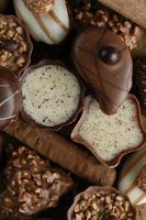 choklad godis foto