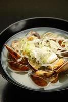 skaldjur soppa foto
