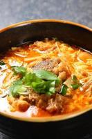 koreansk soppa foto