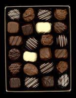 chokladask foto