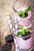blackberry smoothie foto
