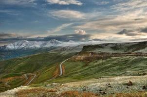 en vacker landskapsutsikt över Armenien foto