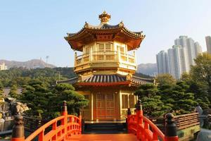paviljongen, nan lian trädgård, Hong Kong
