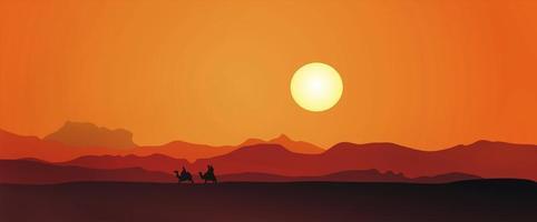 Egypten solnedgång foto