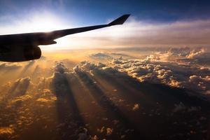 aero solnedgång foto