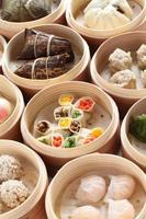 yumcha, dim sum i bambu ångbåt