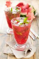vattenmelons juice. foto