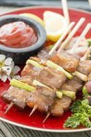 kushiyaki (く し や き)