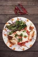 mexikansk enchilada foto