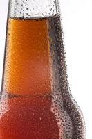 en flaska öl - detaljen foto