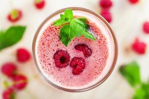 frukt smoothie skaka foto