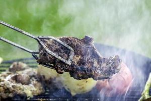 matlagning utanför foto