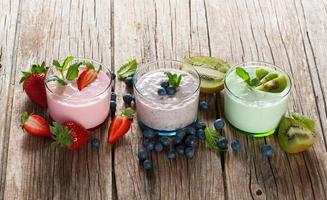 diverse smoothies