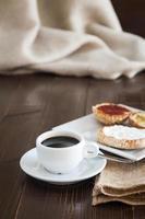 hel frukost foto