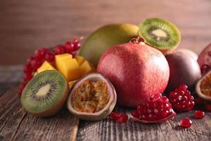 exotiska frukter foto