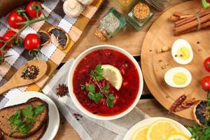 nationell soppa foto