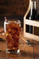 uppfriskande bubblande sodapop foto