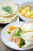mexikanska tacos foto