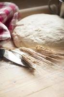 deg för bröd foto