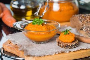 squashpuré (squashkaviar) foto