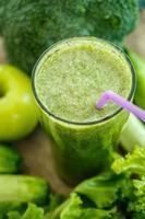 gröna smoothies foto