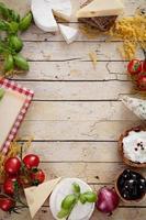 italiensk matlagning foto