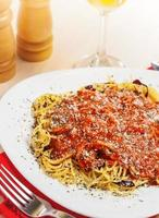 italiensk pasta foto