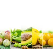 grön blandning foto