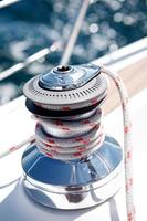 segelbåt vinsch foto