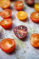 rostade tomater foto
