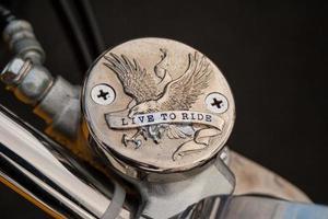 motorcykel emblem foto
