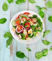 hälsosam sallad