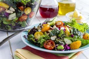 organisk supermat vegetarisk sallad