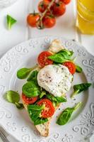 färsk hälsosam frukost