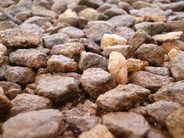små stenar foto