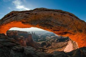 mesa arch, canyonlands national park, utah foto