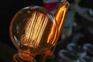 glödlampa från en antik butik i Atlanta, ga foto