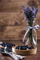 hemlagad blåbärssyrta foto
