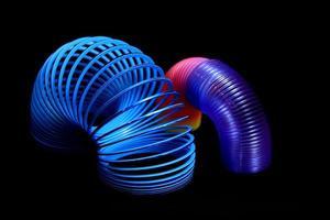 livliga dubbla spiraler foto