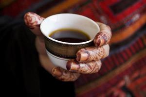 arabisk gästfrihet foto