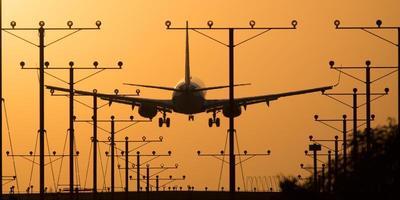 los angeles flygplats foto