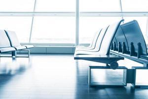 tom plats på flygplatsen