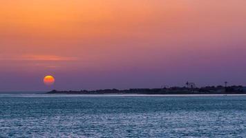 dakar solnedgång foto