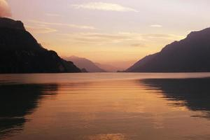schweizisk sjö foto