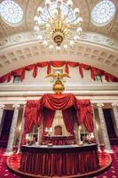 gamla senatskammaren i us huvudstad foto
