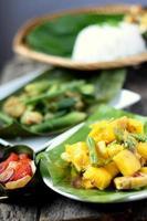 kadazandusun stam traditionella delikatesser foto