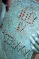 staty av frihet detalj skott foto