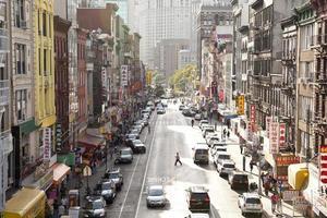 chinatown i new york city foto