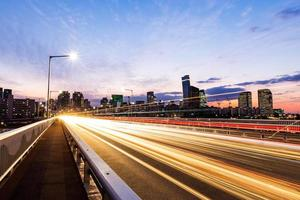 trafik i Seoul City foto
