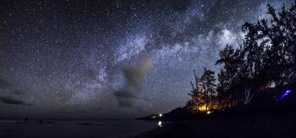 camping under stjärnorna i maui foto
